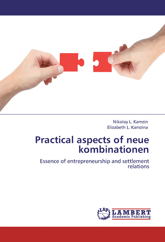 фото обложки издания Practical aspects of neue kombinationen. Essence of entrepreneurship and settlement relations