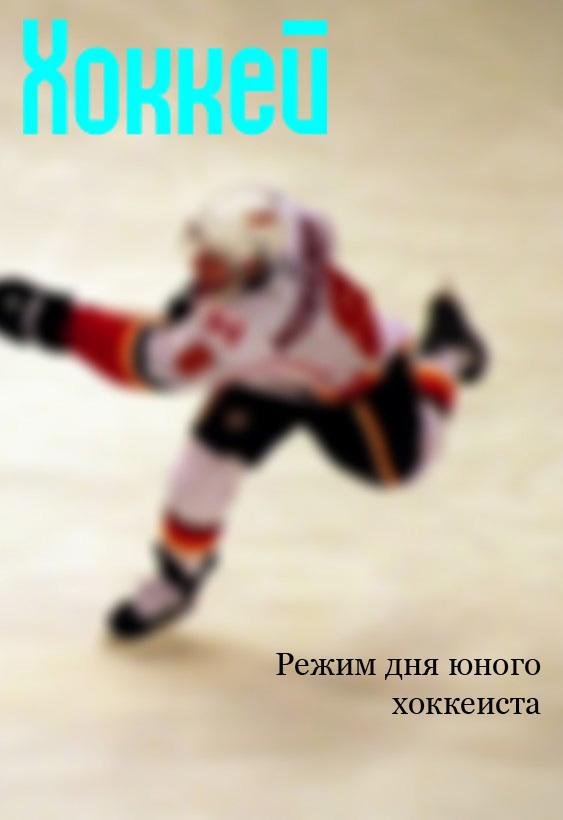 Илья Мельников «Режим дня юного хоккеиста»