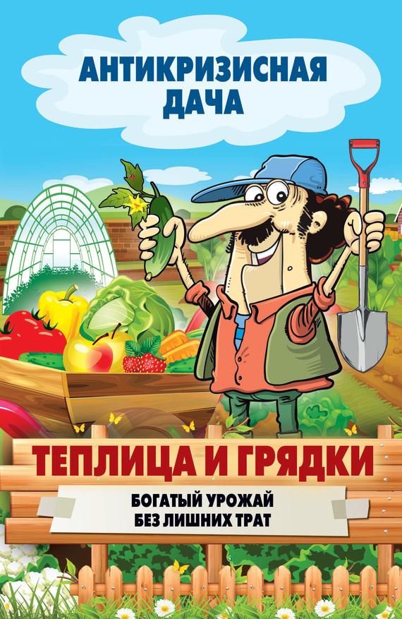 Сергей Кашин «Теплица и грядки. Богатый урожай без лишних трат»