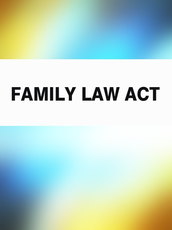 Family Law Act –  Australia