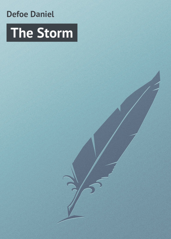 The Storm – Daniel Defoe