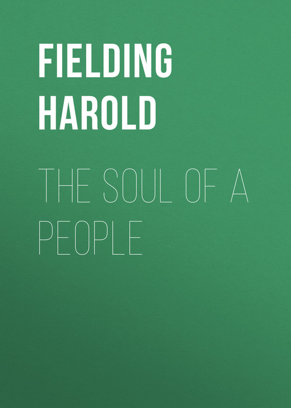 The Soul of a People – Harold Fielding