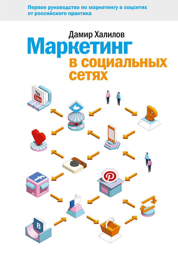 Обложка книги Маркетинг в социальных сетях
