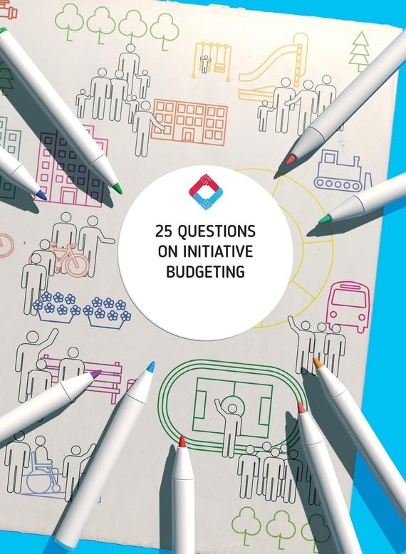 фото обложки издания 25 Questions on Initiative Budgeting: manual