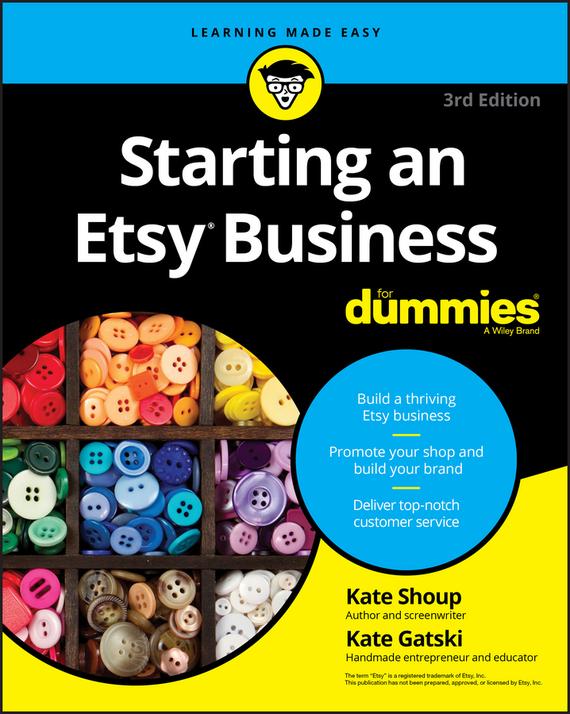 Обложка книги Starting an Etsy Business For Dummies