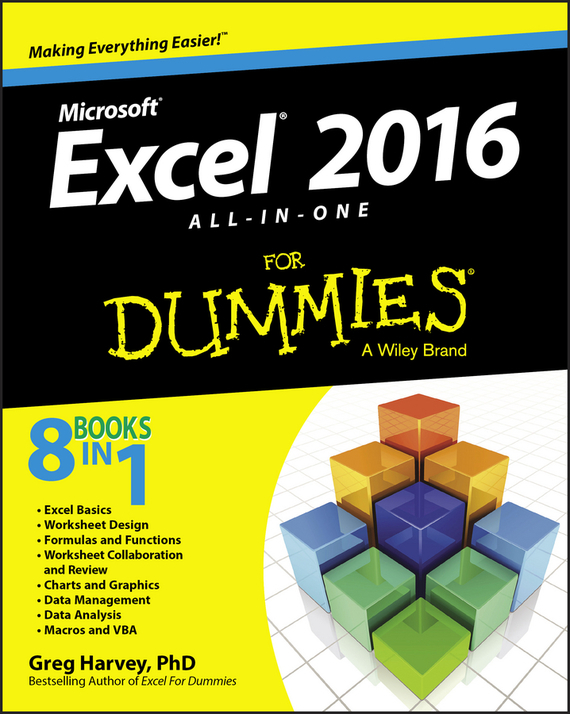 Excel 2016 All-in-One For Dummies – Harvey Greg