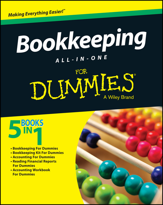 Обложка книги Bookkeeping All-In-One For Dummies
