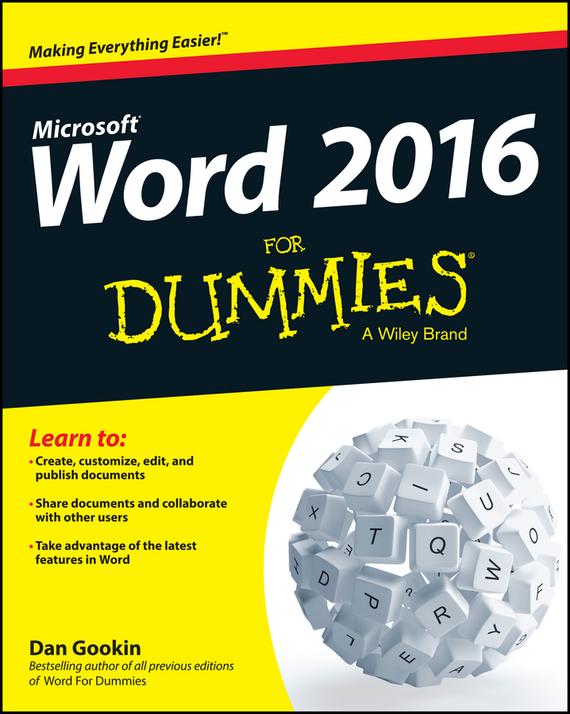 Word 2016 For Dummies – Gookin Dan