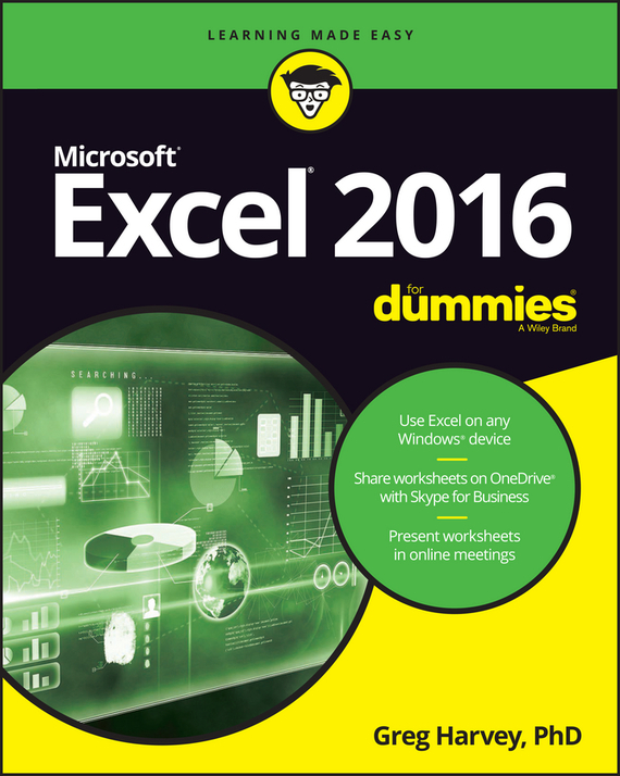 Excel 2016 For Dummies – Harvey Greg