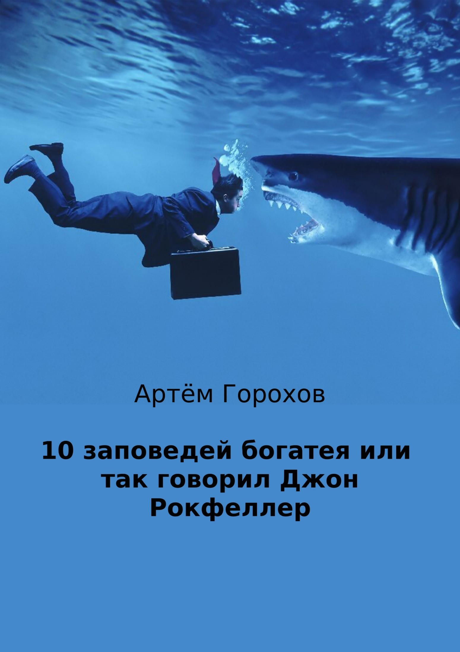 Обложка книги. Автор - Артём Горохов