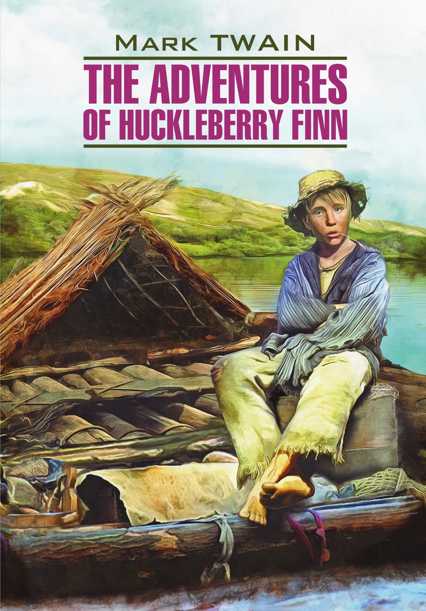 The Adventures of Huckleberry Finn / Приключения Гекльберри Финна. Книга для чтения на английском языке – Марк Твен, Е. Тигонен